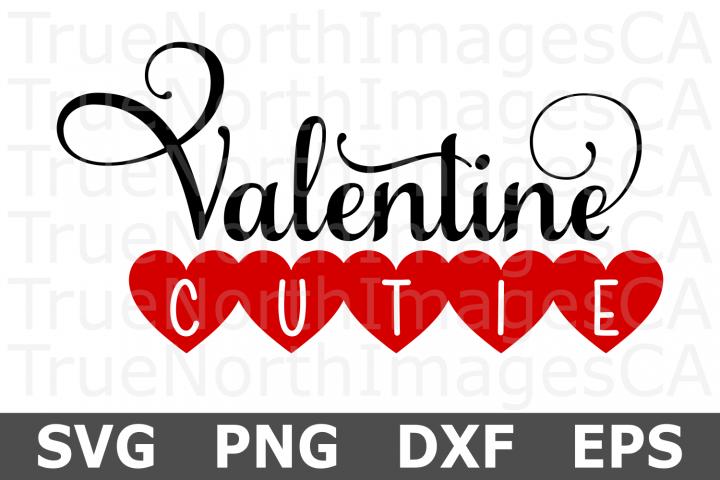 Valentine Cutie - A Valentine SVG Cut File