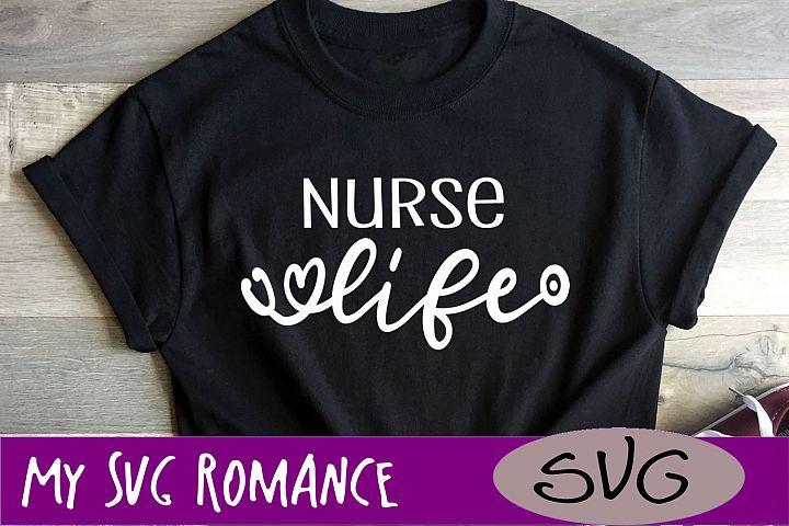 Nurse Life SVG DXF PNG EPS