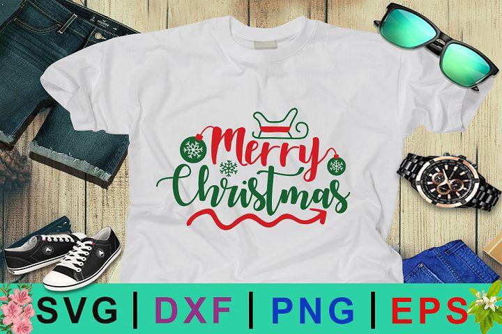 Merry Christmas day SVG Design