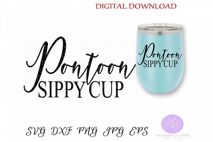 Pontoon Sippy Cup