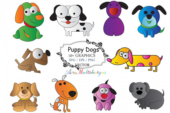 Puppy dog svg /dog animals clip art SVG /dog vector/ hand drawn doodle puppy dog / Eps / Png / printable / farm animal / graphics and illustrations