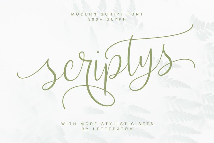 Scriptys With Amazing Alternates