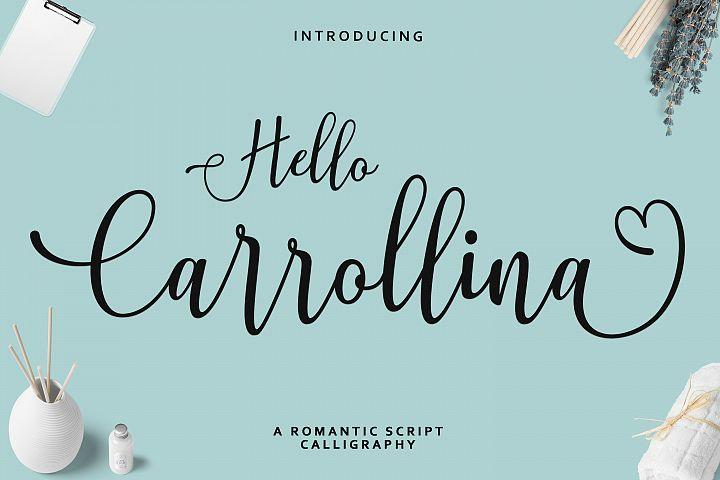Hello Carrollina Script