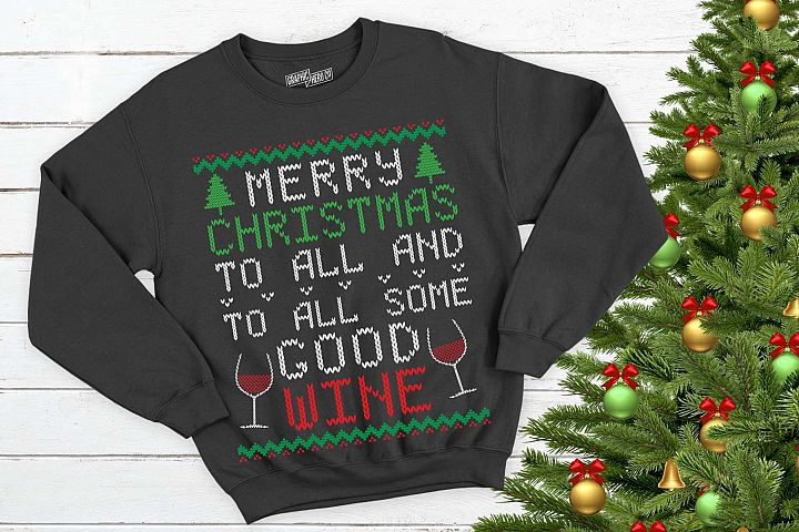 Good Wine Christmas Printable