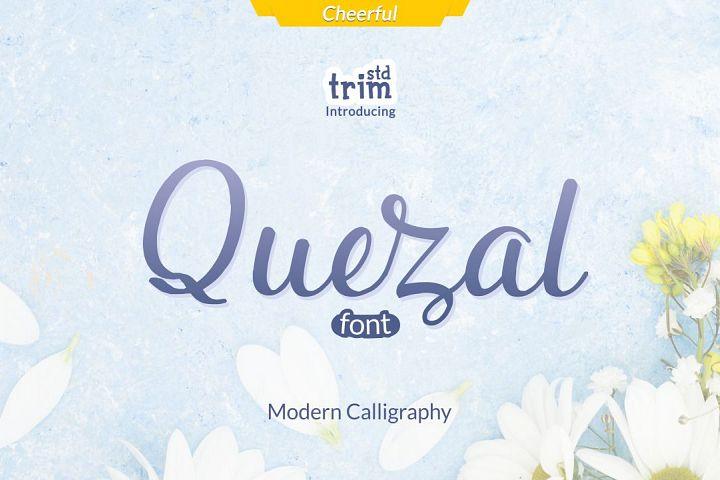 Quezal - Modern Calligraphy