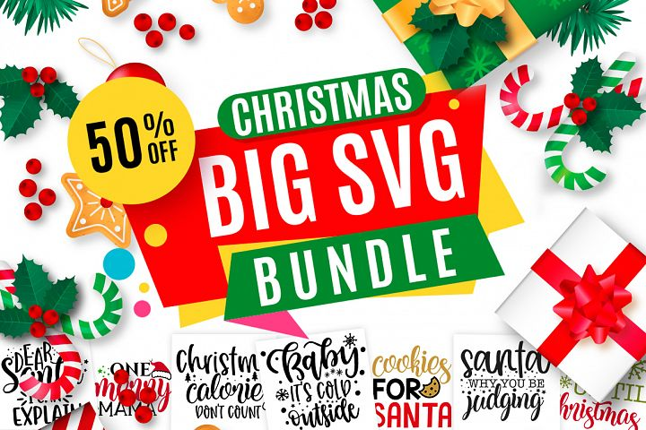 Christmas SVG Design Big Bundle  120 Designs