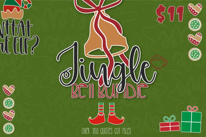 The Jingle Bell SVG Bundle | Christmas Bundle