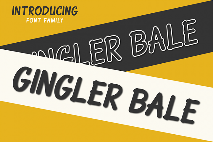 Ginger Bale  Duo Font Style