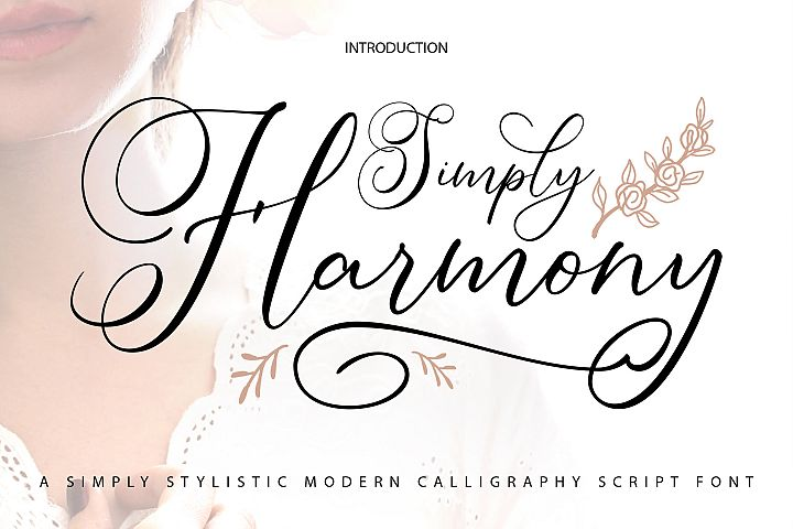 Simply Harmony | ASimply Stylistic Modern Calligraphy Script