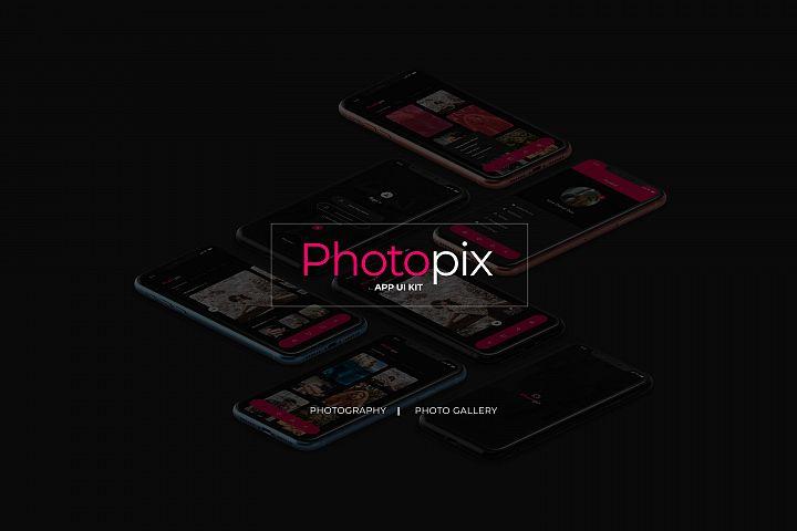 Photopix App UIKit