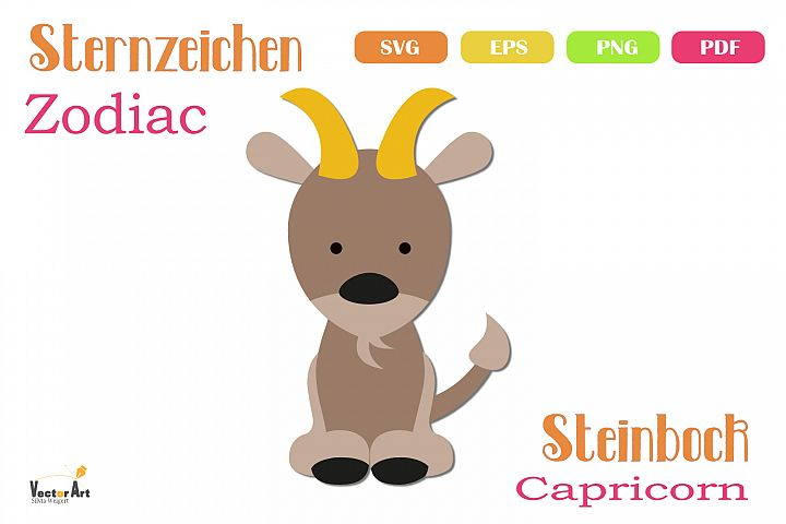 Zodiac - Capricorn - File for Crafters