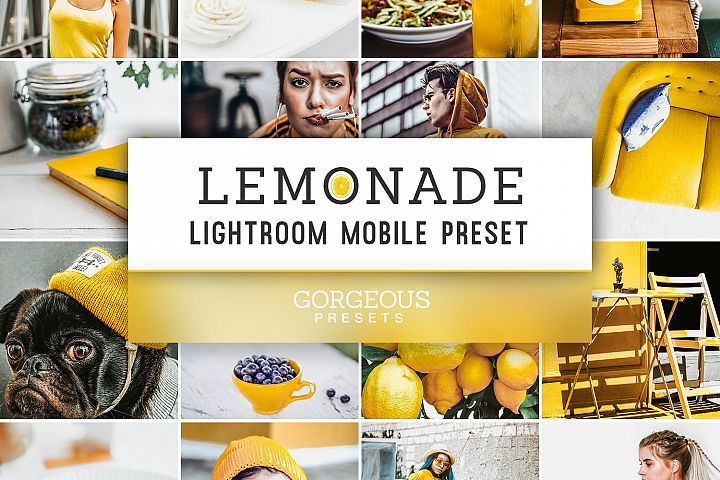 Mobile Lightroom Preset LEMONADE