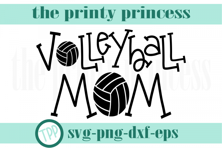 Volleyball Mom svg, Volleyball svg, volleyball design