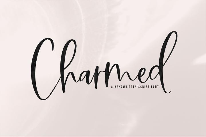 Charmed - A Handwritten Script Font