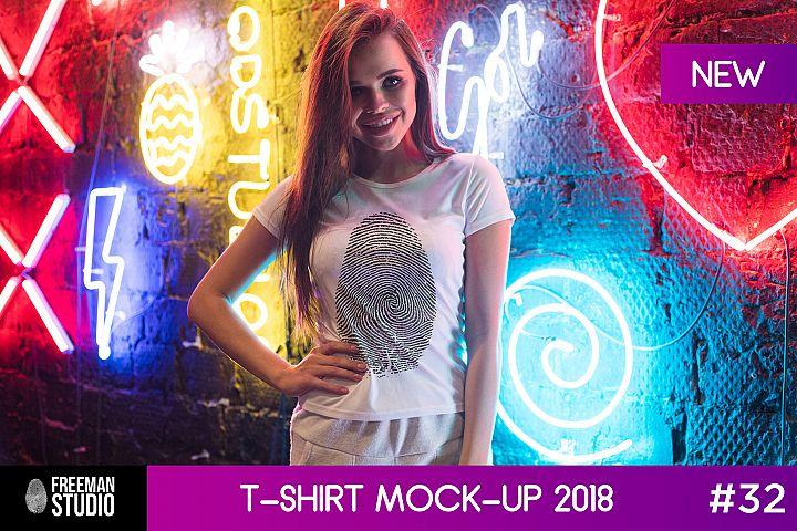 T-Shirt Mock-Up 2018 #32