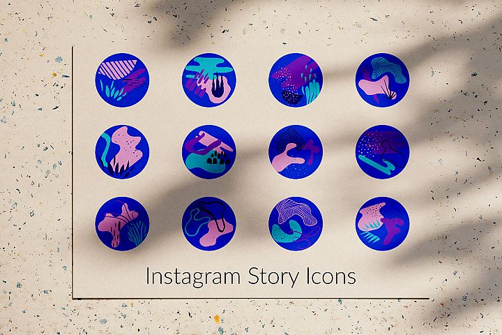 Modern Instagram Story Icons