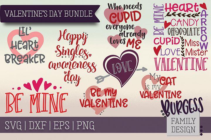 Valentines Day Bundle | SVG DXF EPS PNG