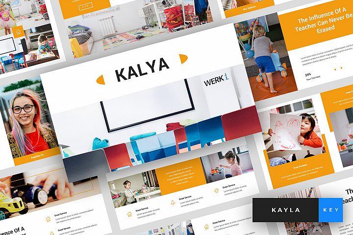 Kayla - Kindergarten Keynote Template