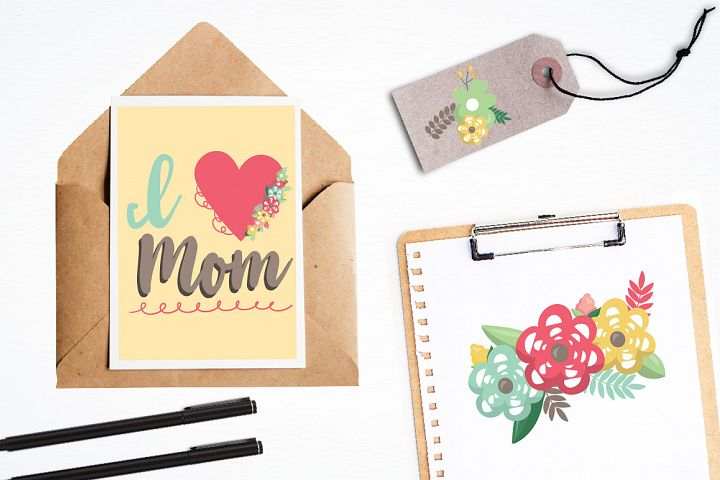 Mother's day graphics and illustrations - Free Design of The Week Design2