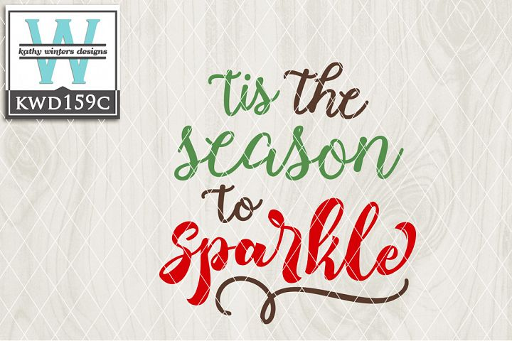 Christmas SVG - Tis The Season KWD159C