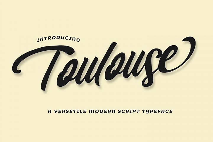 Toulouse Font