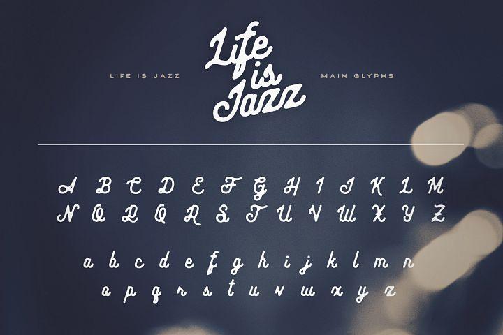 Life Is Jazz Script example image 5