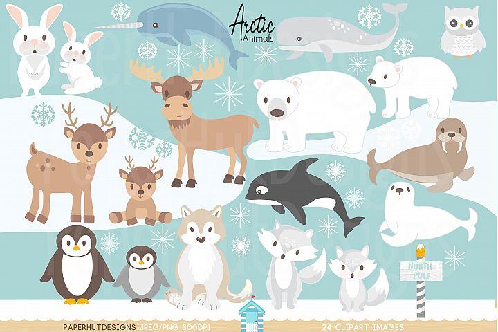 Arctic Animals Clipart