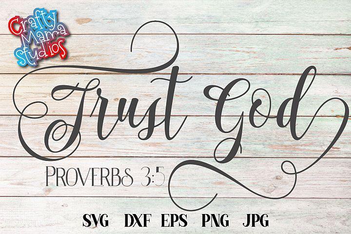 Trust God SVG, Faith In God SVG