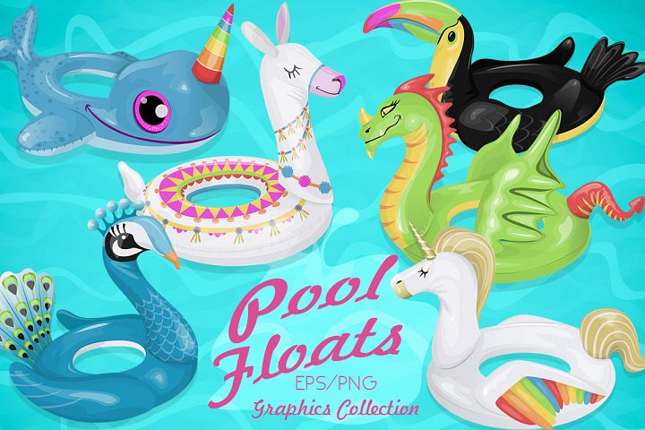 Summer Pool Floats Collection 2