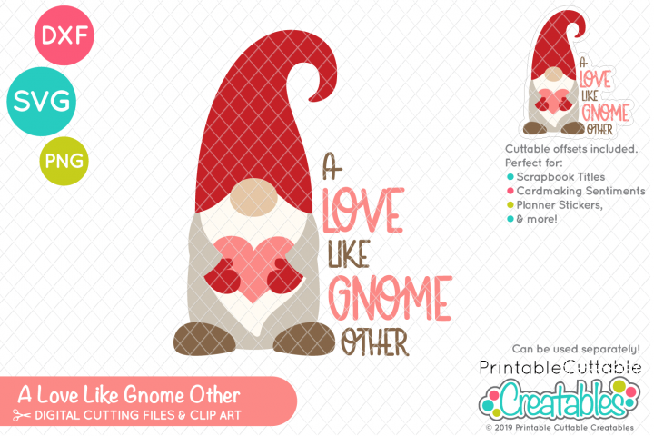 A Love Like Gnome Other SVG