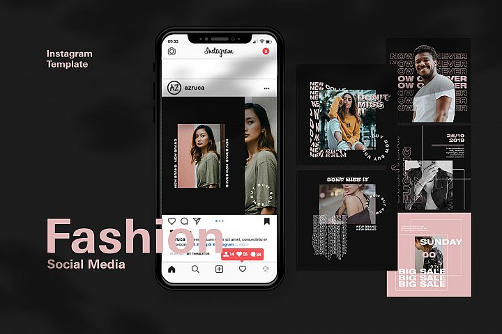 Fashion Instagram Feed Templates