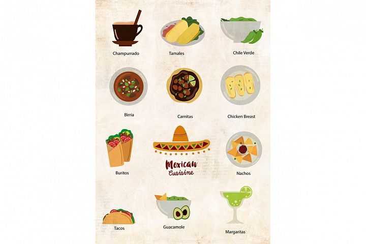 Mexican Food Clipart - Free Design of The Week Design 4