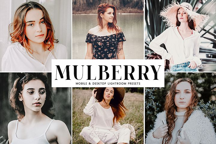 Mulberry Mobile & Desktop Lightroom Presets