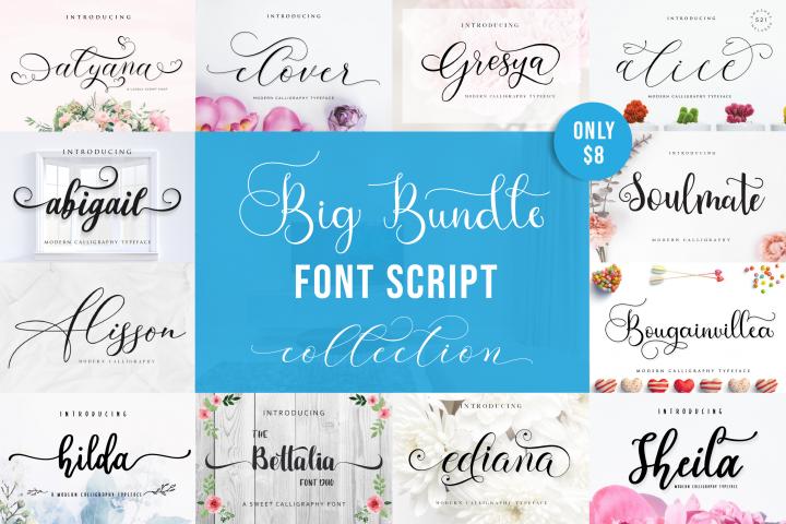 Special Fonts Bundle