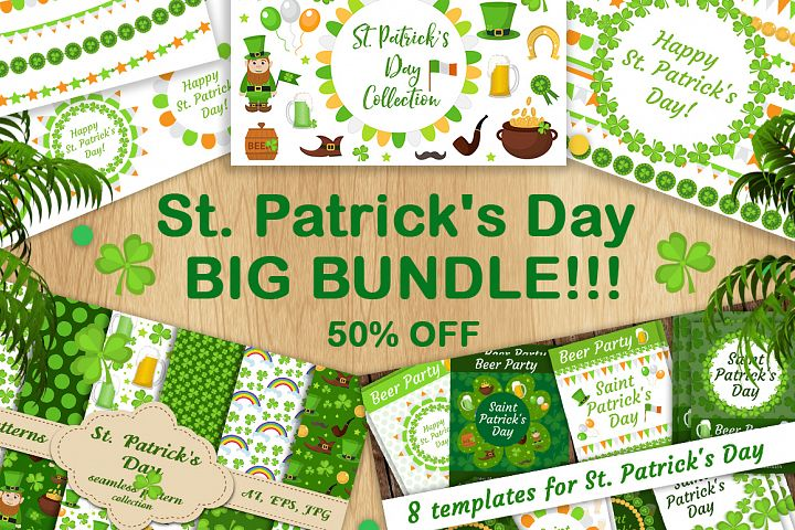 St. Patricks Day BIG BUNDLE !!!!