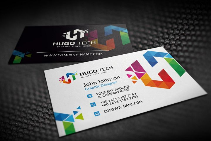 Hugo Tech Poligon Business Card