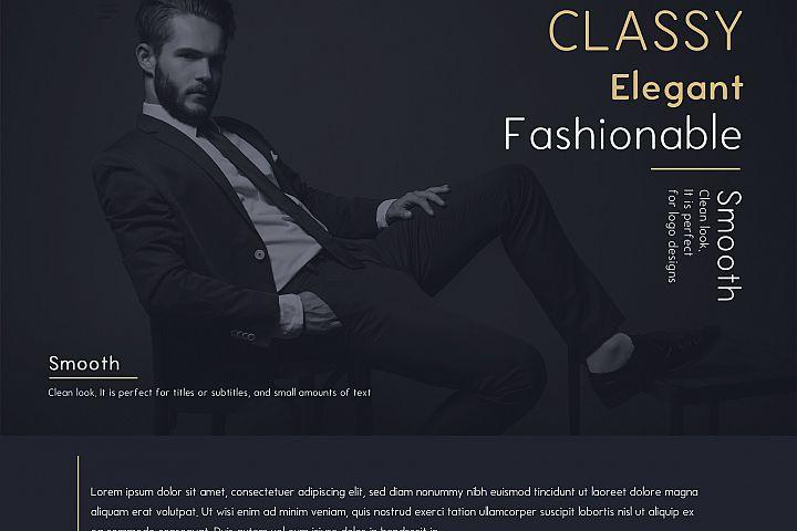 Enrique - 8 Fonts Fashionable Elegant Sans Serif Font example image 7