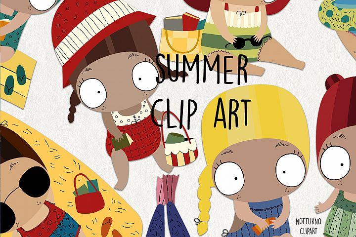 Summer Clipart SVG