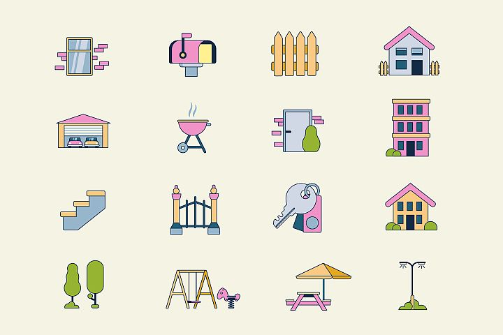 Housing Icons