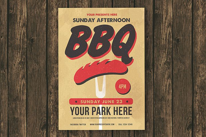 Sunday BBQ Flyer