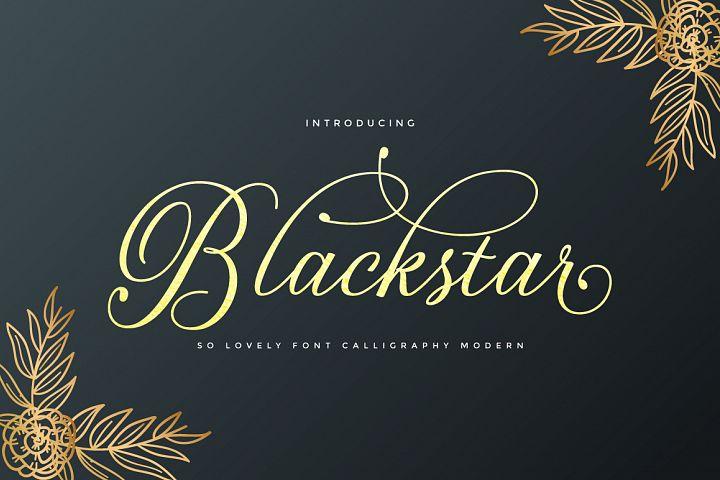 Blackstar Script