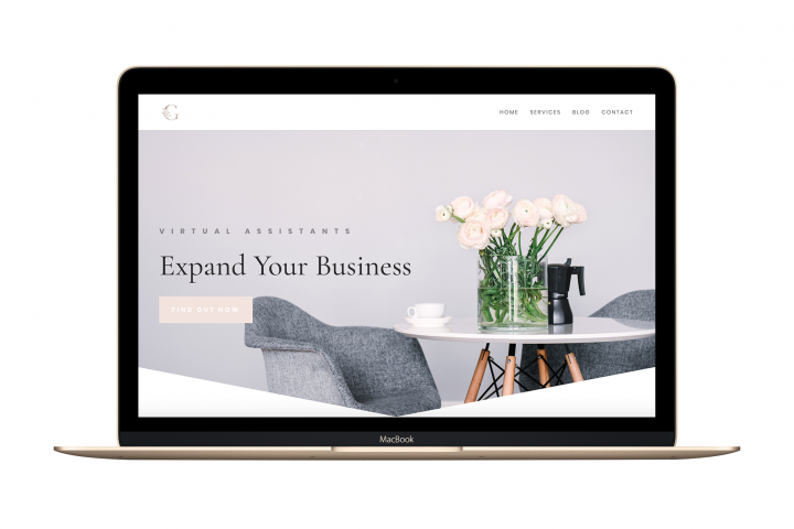 The Chloe - Divi Child Wordpress Theme - Feminine & Chic