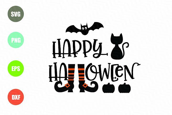 Happy Halloween SVG File