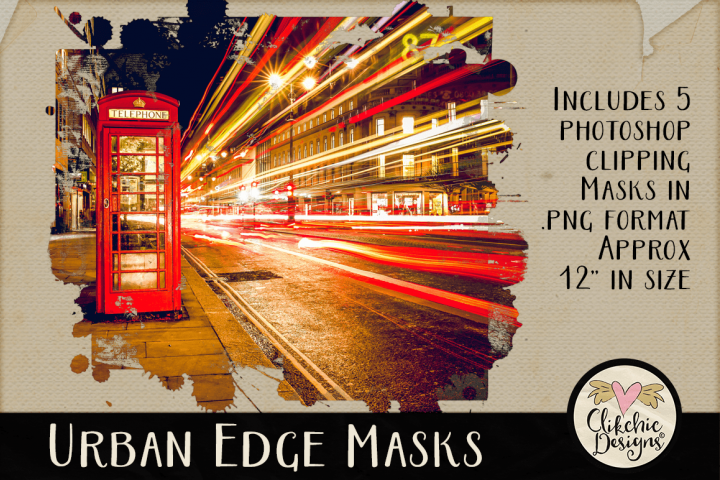 Clipping Masks - Urban Edge Photography Masks & Tutorial