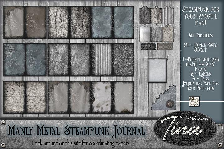 Manly Metal Steampunk Journal