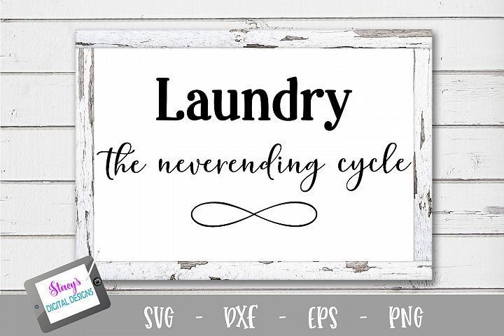 Laundry SVG - Laundry, the neverending cycle