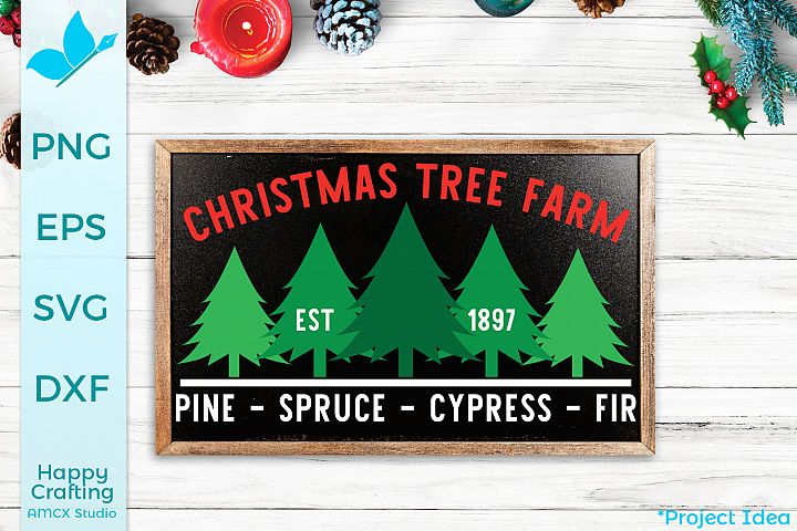 Christmas Tree Farm - A Christmas Craft File