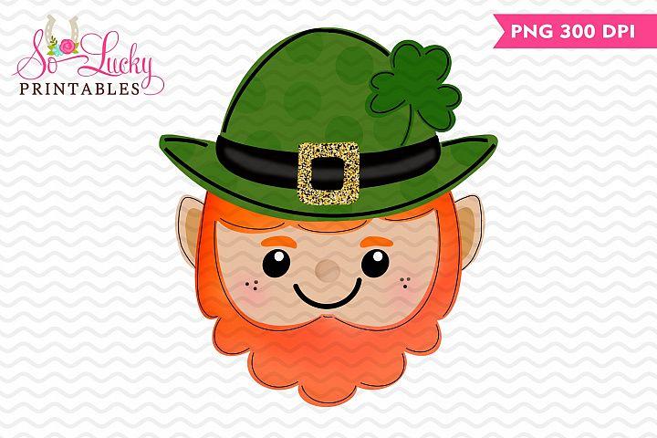 St Patricks day Leprechaun printable sublimation design