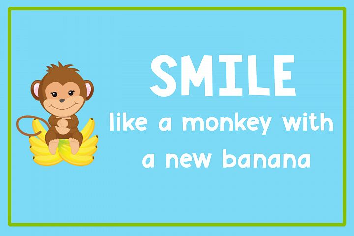 Monkey Mayhem - A fun and playful font example 2