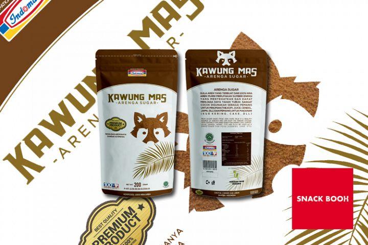 kawung mas packaging design